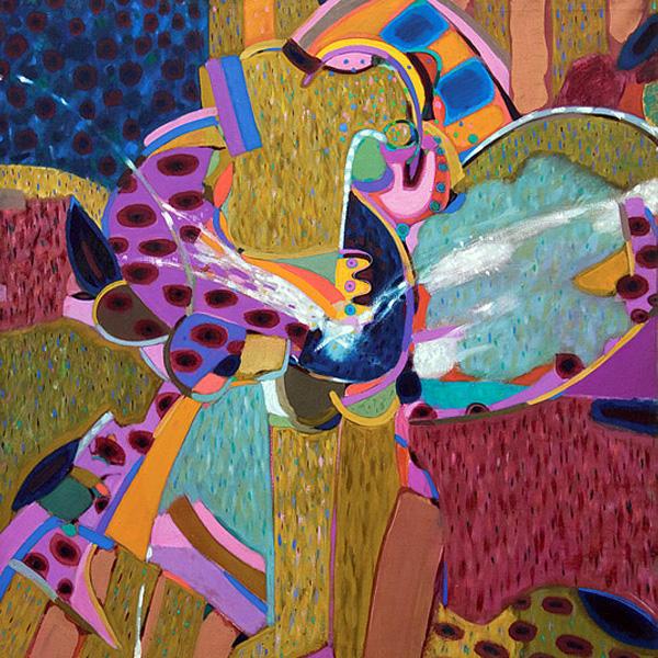 Glad day 1965 . 120x10cm wood canvas oil paint