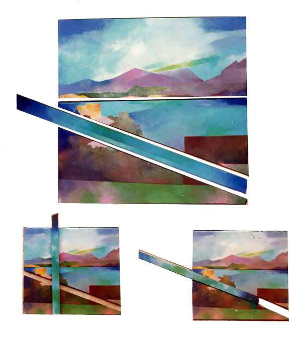 summer past 1976.100x90cm. canvas wood. acrylic paint
