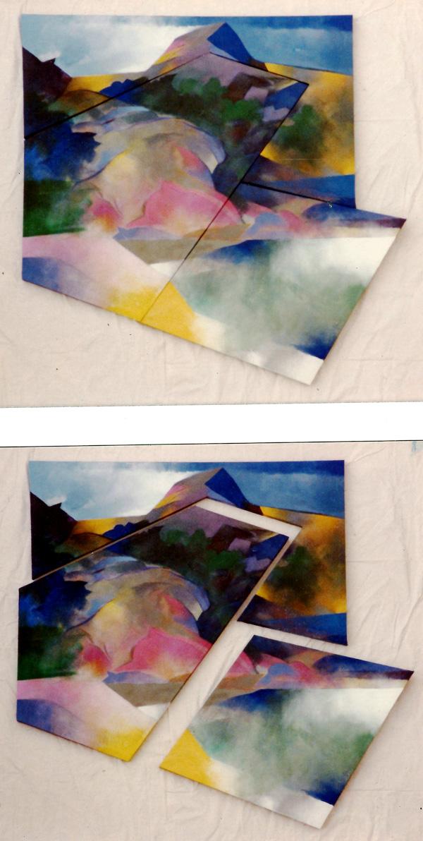 Bacho wan 1978. 90x82cm wood canvas acrylic paint