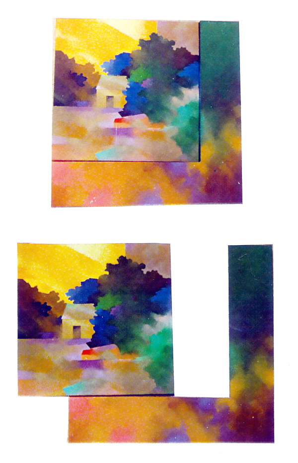 Chima wan 1977.90x80cm Wood canvas Acrylic paint.